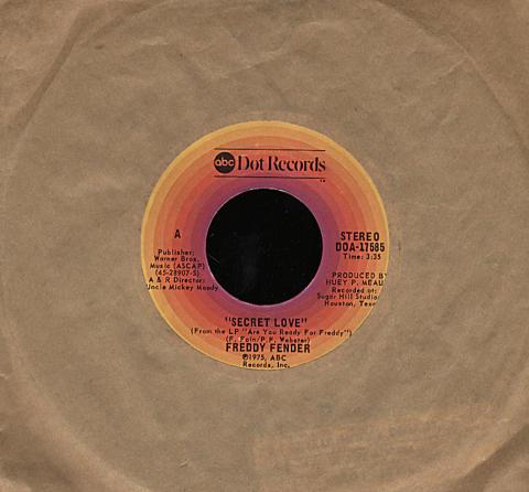 """Freddy Fender Vinyl 7"""" (Used)"""