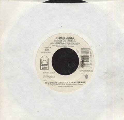 "Quincy Jones Featuring Tevin Campbell Vinyl 7"" (Used)"