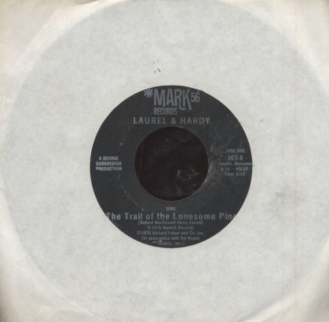 "Laurel and Hardy Vinyl 7"" (Used)"