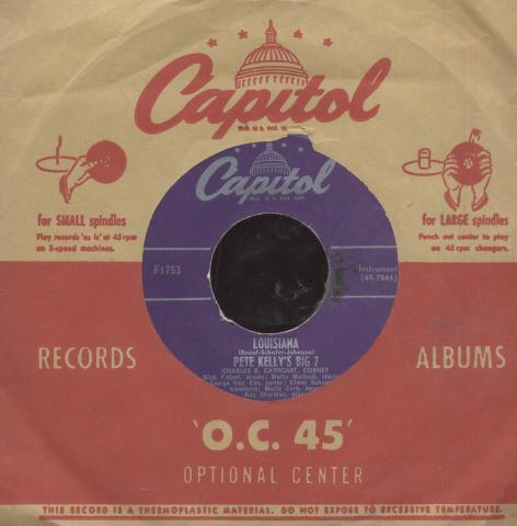 "Pete Kelly's Big 7 Vinyl 7"" (Used)"