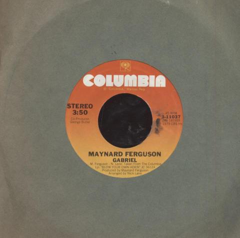 "Maynard Ferguson Vinyl 7"" (Used)"