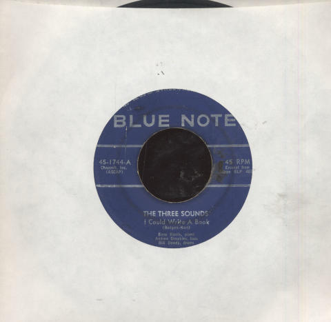 "The Three Sounds Vinyl 7"" (Used)"