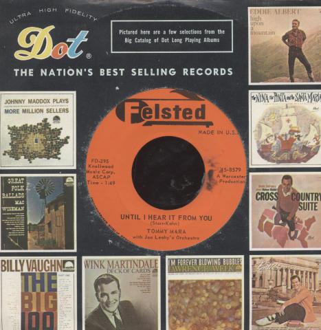 "Tommy Mara Vinyl 7"" (Used)"
