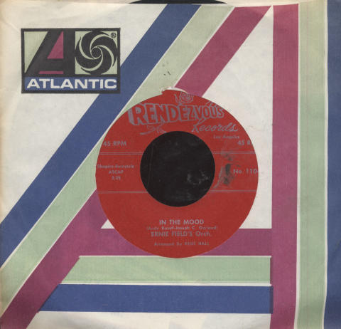 """Ernie Field's Orchestra Vinyl 7"""" (Used)"""