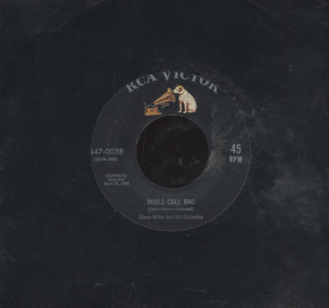 """Glenn Miller and His Orchestra Vinyl 7"""" (Used)"""