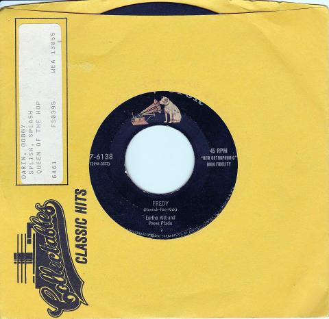 "Eartha Kitt and Perez Prado Vinyl 7"" (Used)"