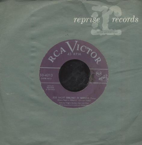 """Camillo Felgen-Barbara Kist Vinyl 7"""" (Used)"""