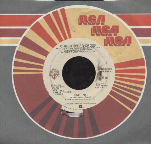 "Christopher Cross Vinyl 7"" (Used)"