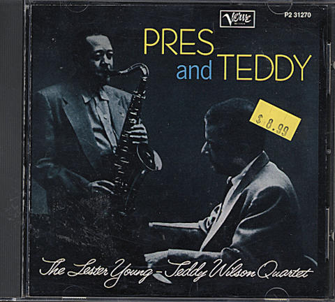 The Lester Young - Teddy Wilson Quartet CD