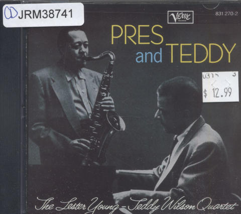 The Lester Young-Teddy Wilson Quartet CD