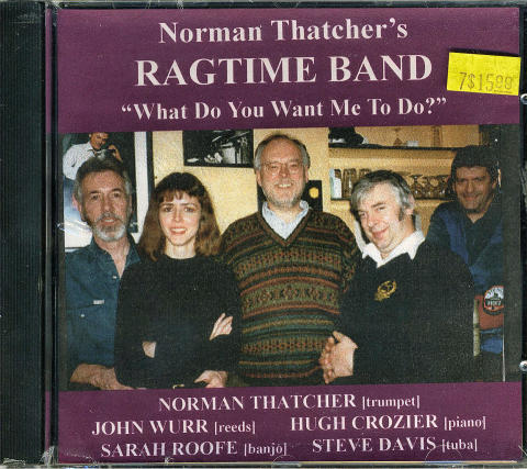 Norman Thatcher's Ragtime Band CD