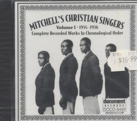 Mitchell's Christian Singers CD
