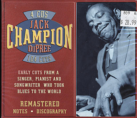 Champion Jack Dupree CD