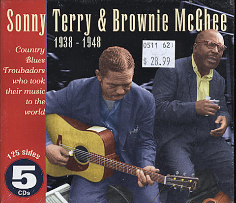 Sonny Terry & Brownie McGhee CD