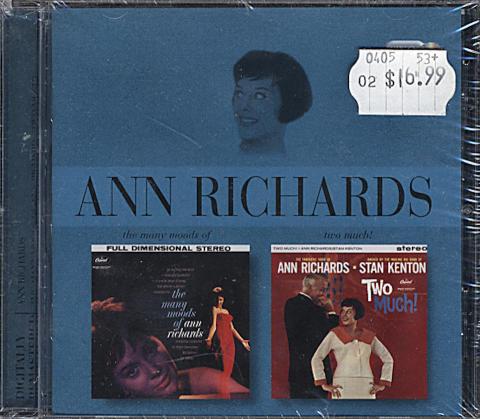 Ann Richards CD
