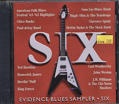 Evidence Blues Sampler: Six CD