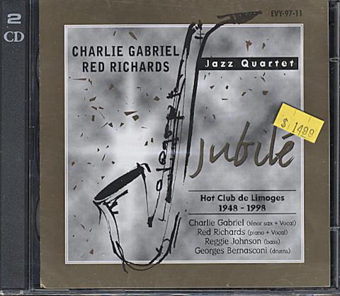 Charlie Gabriel CD