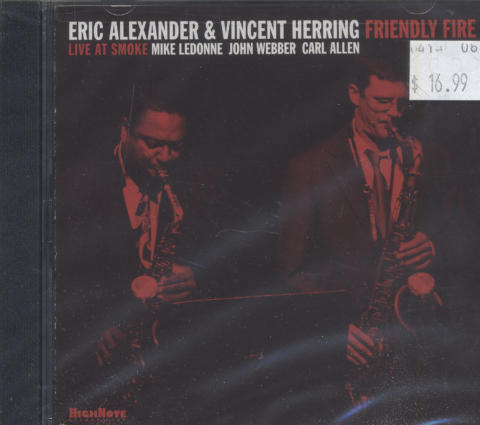 Eric Alexander & Vincent Herring CD