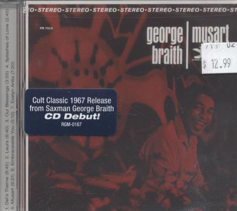 George Braith CD