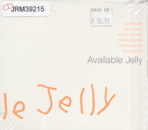 Available Jelly CD