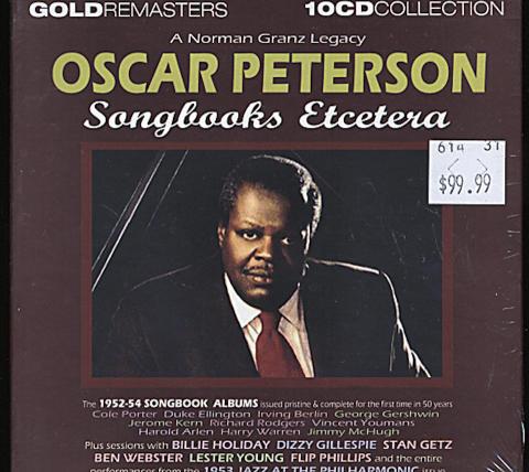 Oscar Peterson CD