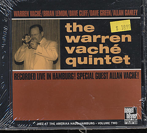 The Warren Vache Quintet CD