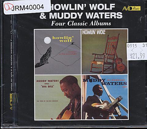 Howlin' Wolf & Muddy Waters CD