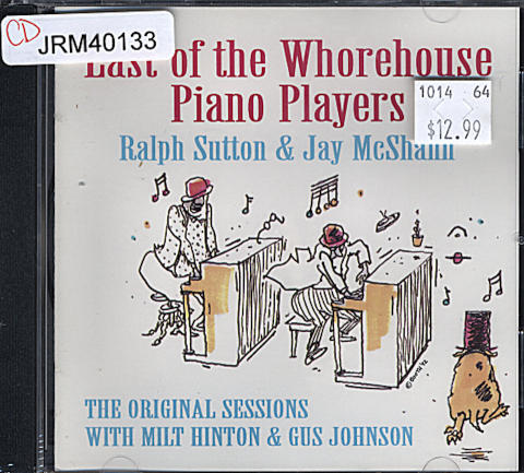 Last Of The Whorehouse Piano Players CD