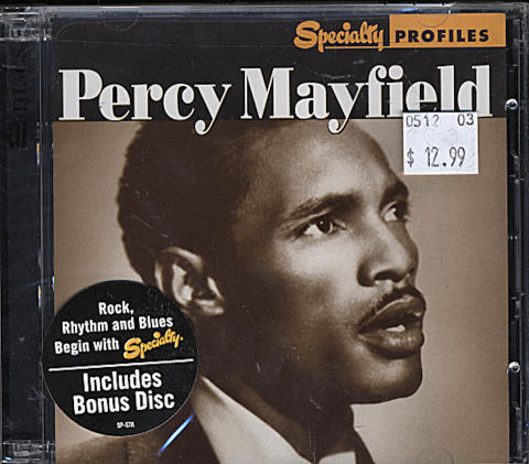 Percy Mayfield CD