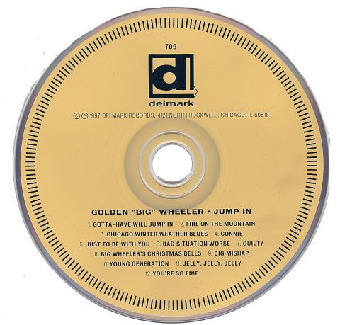 """Golden """"Big"""" Wheeler CD"""