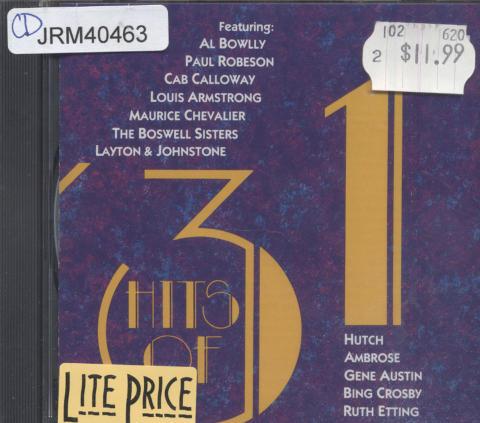 Hits of '31 CD