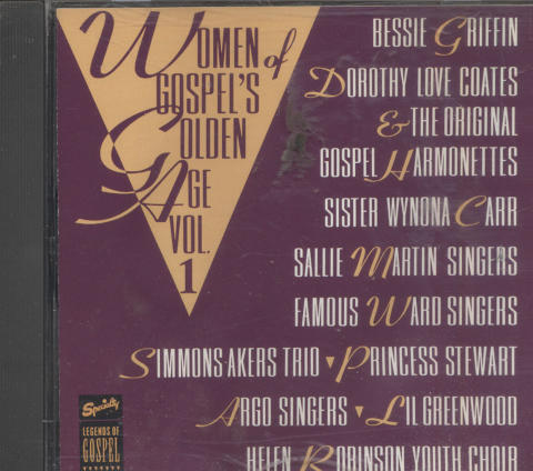 Women of Gospel's Golden Age Vol.1 CD