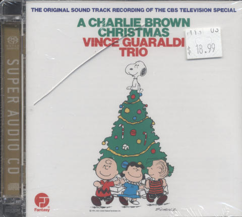 Vince Guaraldi Trio CD