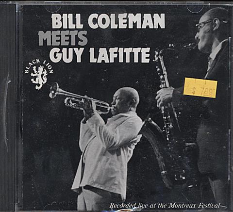 Bill Coleman Meets Guy Lafitte CD