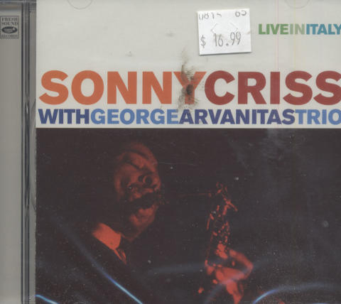 Sonny Criss with George Arvanitas Trio CD