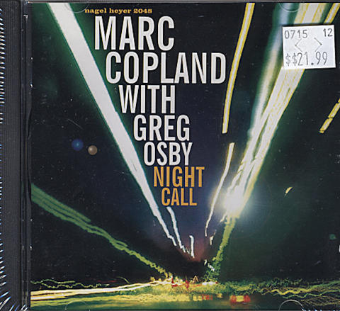 Marc Copland With Greg Osby CD