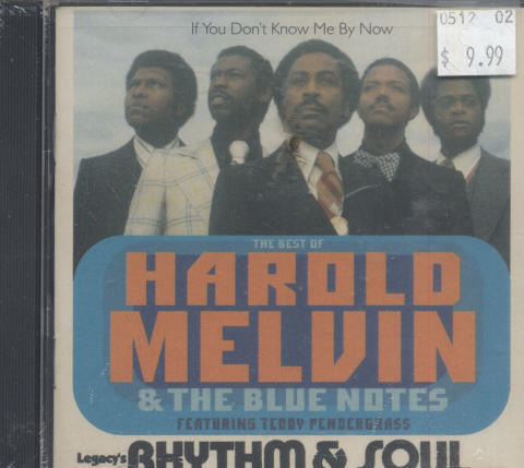 The Best Of Harold Melvin & The Blue Notes Featuring Teddy Pendergrass CD