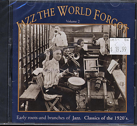 Jazz The World Forgot: Volume 2 CD