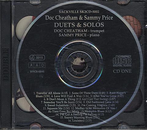 Doc Cheatman & Sammy Price CD