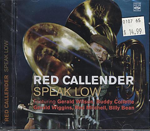 Red Callender CD