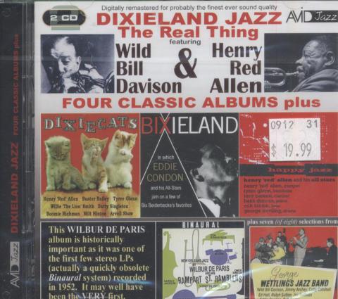 """Wild Bill Davison & Henry """"Red"""" Allen CD"""