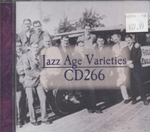 Jazz Age Varieties CD266 CD