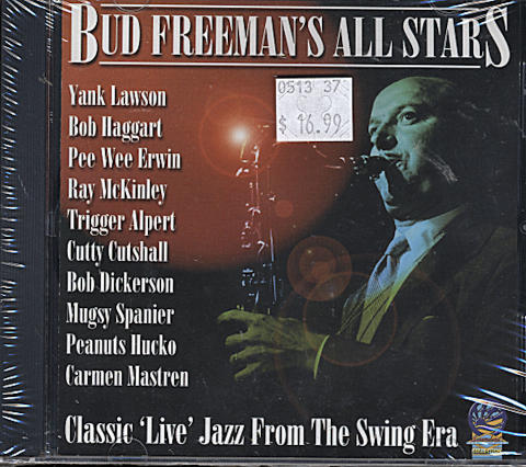 Bud Freeman's All Stars CD