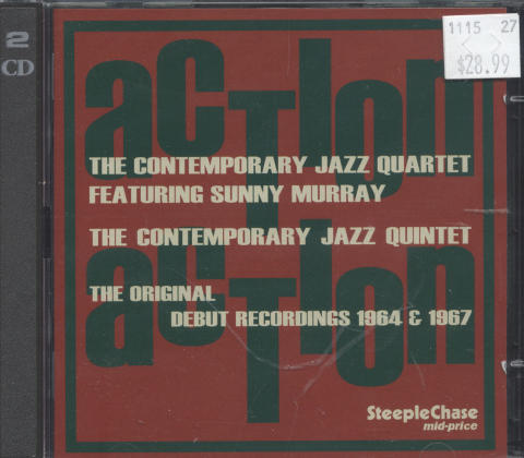 The Contemporary Jazz Quartet CD