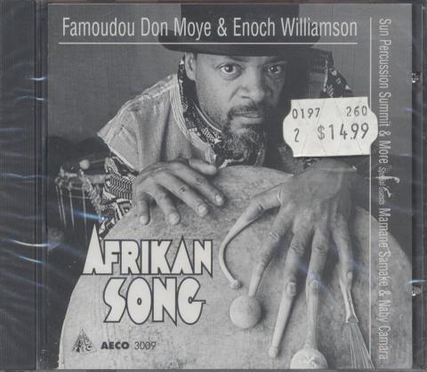 Famoudou Don Moye & Enoch Williamson CD