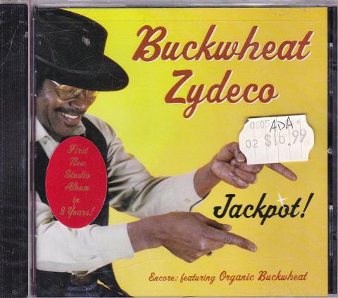 Buckwheat Zydeco CD