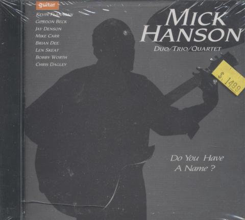 Mick Hanson Duo CD
