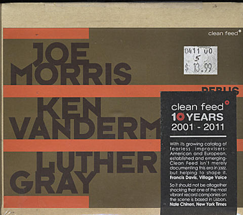 Joe Morris / Ken Vandermark / Luther Gray CD