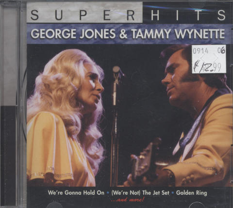 George Jones & Tammy Wynette CD