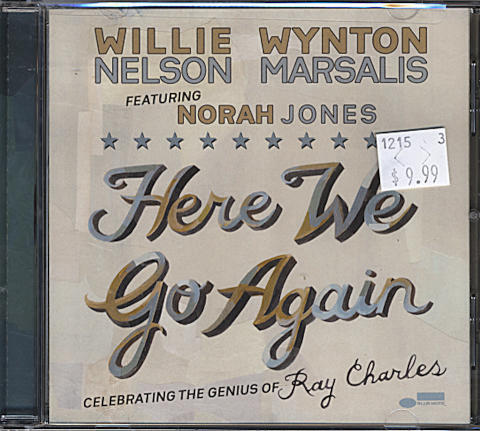 Willie Nelson and Wynton Marsalis featuring Norah Jones CD